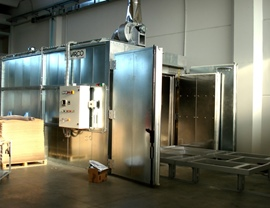 Static oven (T 400 ° C)